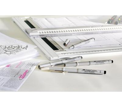Ручка капиллярная ECCO PIGMENT Черная 0,5 мм, фото 4