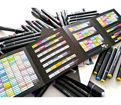 Набор маркеров FAT&SKINNY WOOD Лесные цвета 12 шт, фото 4