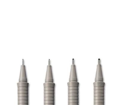 Ручка капиллярная ECCO PIGMENT Черная 0,1 мм, фото 2
