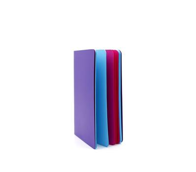 Скетчбук-книжка Фиолетовый A5 Розовая/Голубая бумага, фото 1
