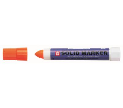 Маркер Sakura Solid Флуоресцентный Оранжевый 12 мм, фото 1
