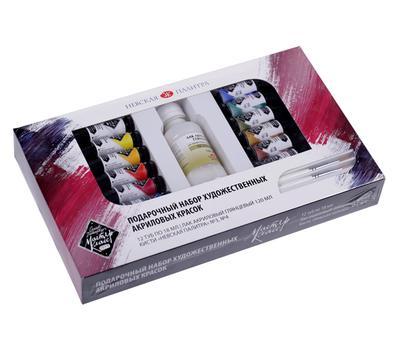 Подарочный набор акриловых красок Мастер-Класс 12*18 мл, фото 1