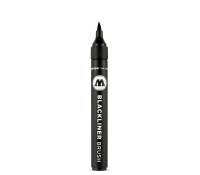 Маркер-кисть MOLOTOW Blackliner Brush Черный, фото 1