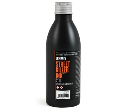 Чернила Grog Street Killer 200 мл Черные, фото 1