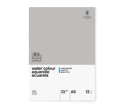 Альбом для акварели W&N Classic 300г/м.кв 14,8x21см, 12л (фин, склейка), фото 1
