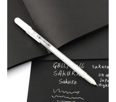 Ручка гелевая Gelly Roll (белая 0,5 мм), фото 3