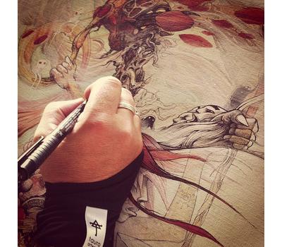 Ручка капиллярная Pitt Artist Pen Черная C, фото 10
