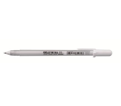 Ручка гелевая Gelly Roll (белая 0,5 мм), фото 1