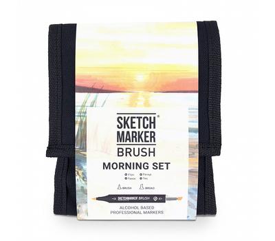 Набор маркеров SKETCHMARKER BRUSH 12 Morning Set - Утро (12 маркеров + сумка органайзер), фото 1