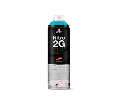Краска аэрозольная Mtn NITRO 2G COLORS Голубой 500 мл