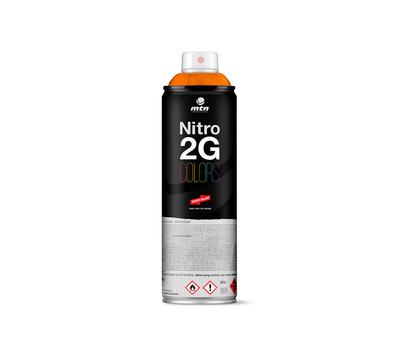Краска аэрозольная Mtn NITRO 2G COLORS Оранжевый 500 мл