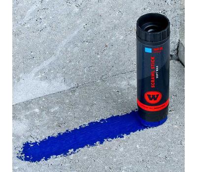 Восковой маркер SCRAWL STICK Синий, фото 4