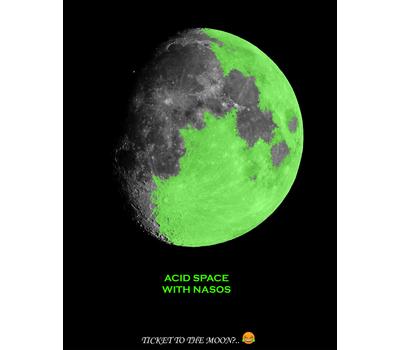 "Стикер NASOS ""Acid Space"", фото 1"
