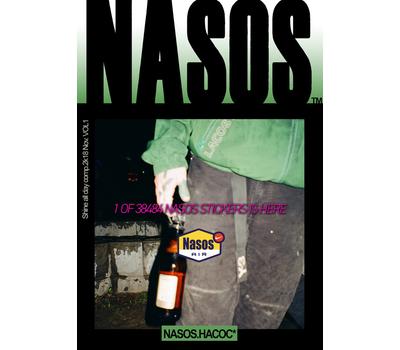 """Стикер NASOS """"Nasos Air"""", фото 1"""