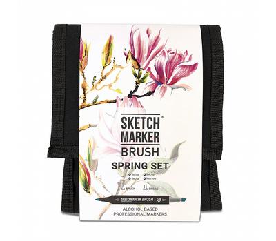 Набор маркеров SKETCHMARKER BRUSH 12 Spring Set - Весна (12 маркеров + сумка органайзер), фото 1